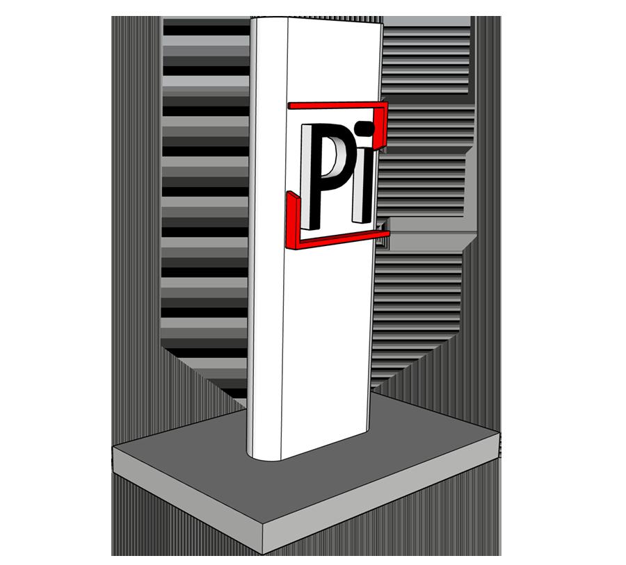 Изготовление рекламных стелл, пилонов для АЗС