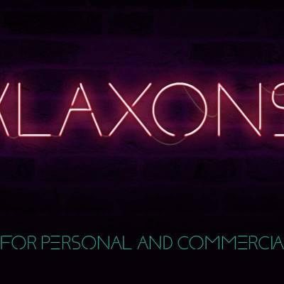 Шрифт Klaxons